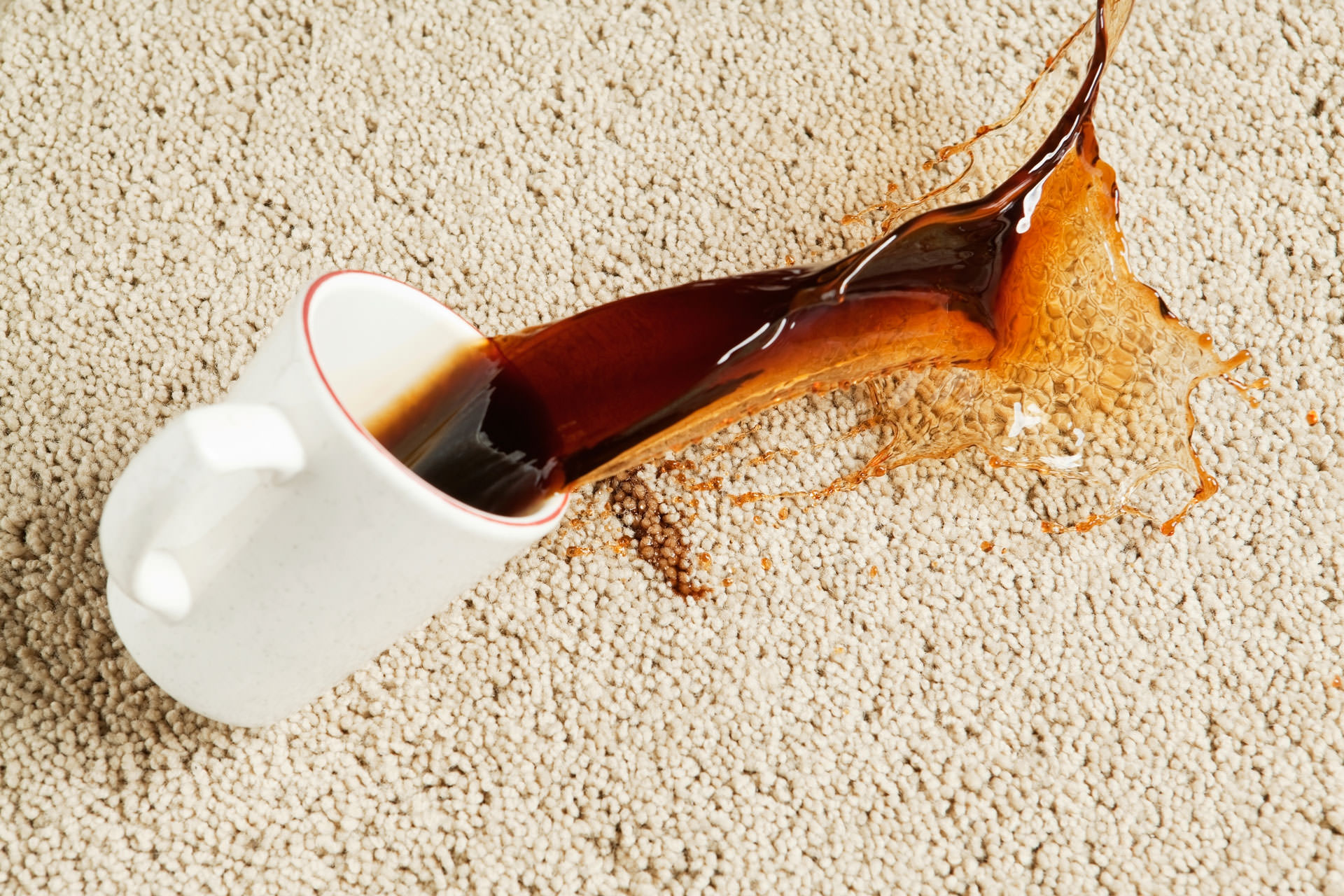 how to get tea stain out of carpet uk