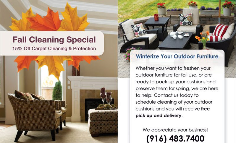 Fall Cleaning Special