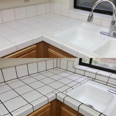 Counter top color change